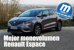 Mejor monovolumen 2017 para Motor.es: Renault Espace