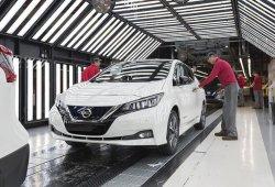 El nuevo Nissan Leaf 2018 inicia su producción en Europa
