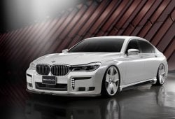 El BMW Serie 7 recibe el paquete Black Bison de Wald International