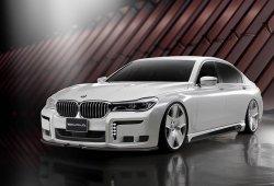 El BMW Serie 7 recibe el paquete Black Bison de Wald International