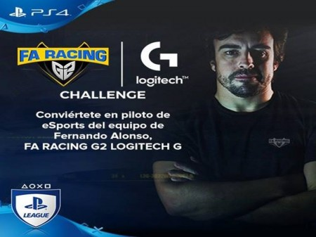 Alonso presenta su primer torneo de eSports