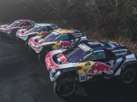Dakar 2018: Un color por cada Peugeot 3008 DKR Maxi