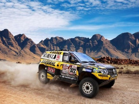 Dakar 2018: El Renault Duster renace con fuerza