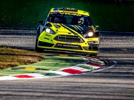 Rossi remonta para ganar su sexto Monza Rally Show