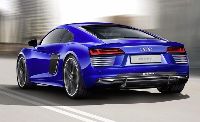 Audi R8 e-tron - posterior