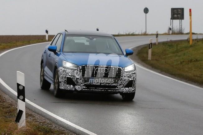 Audi SQ2 2018 - foto espía  frontal