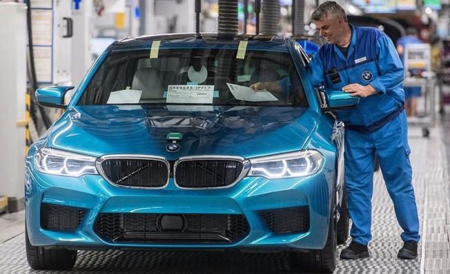 BMW M5 2018 - producción