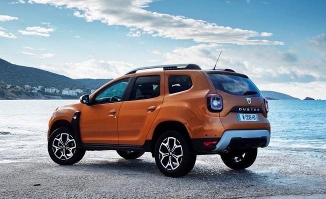 Dacia Duster 2018 - posterior