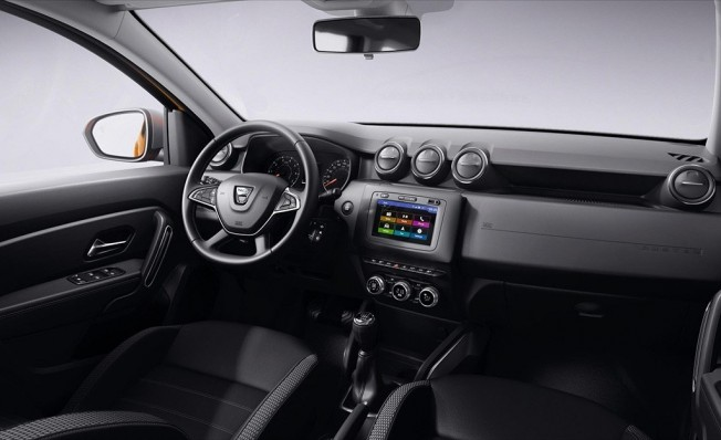 Dacia Duster 2018 - interior