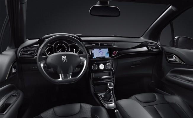 DS 3 Black Lézard - interior