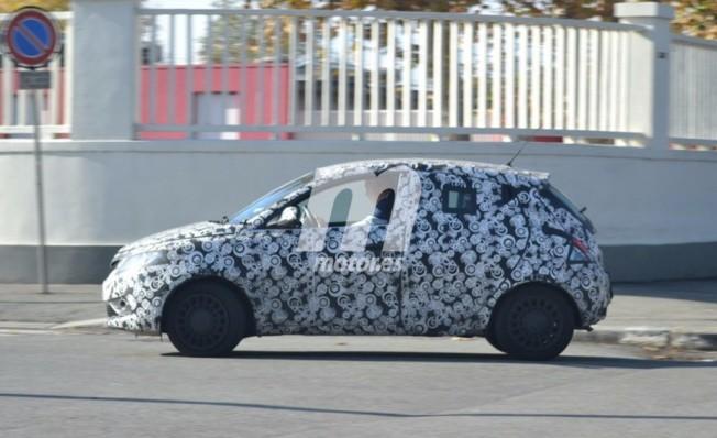 Lancia Ypsilon 2018 - foto espía lateral