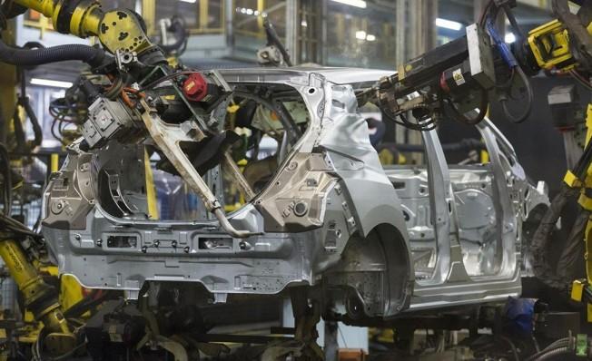 Producción del Nissan Leaf 2018 en Europa