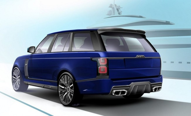 Overfinch Range Rover 2018 - posterior