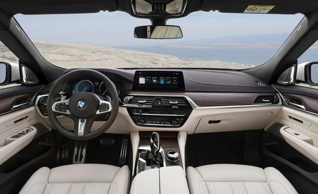 BMW Serie 6 GT 2018 - interior