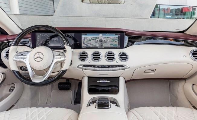 Mercedes Clase S Cabrio 2018 - interior