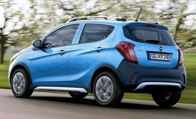 Opel Karl Rocks - posterior