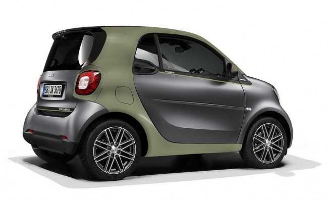 Smart ForTwo ED Pull&Bear Edition