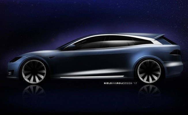 Tesla Model S Shooting Brake - adelanto