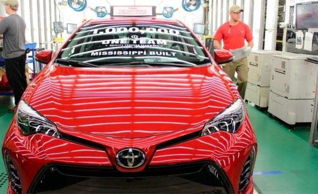 Producción del Toyota Corolla en Estados Unidos