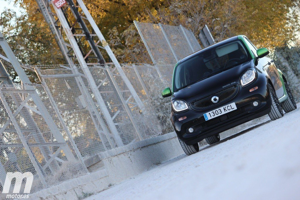 Prueba Smart Forfour Electric Drive: Luces y sombras (II)