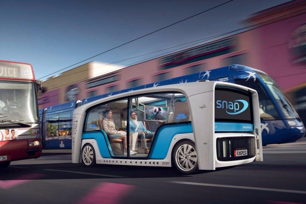 Rinspeed Snap: la nueva apuesta de movilidad se divide en dos para el CES 2018