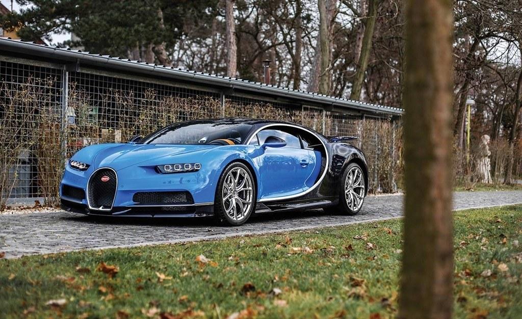 Un ejemplar del nuevo Bugatti Chiron será subastado en París