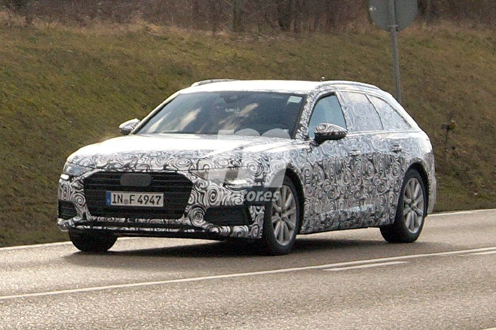 La nueva generación del Audi A6 Avant comienza sus pruebas en carretera