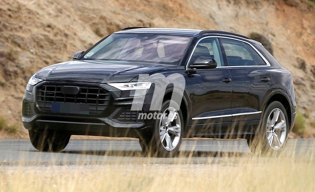 El esperado Audi Q8 vuelve a dejarse ver casi sin camuflaje