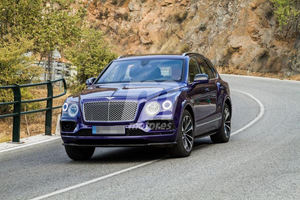 El Bentley Bentayga híbrido debutará en el Salón de Ginebra