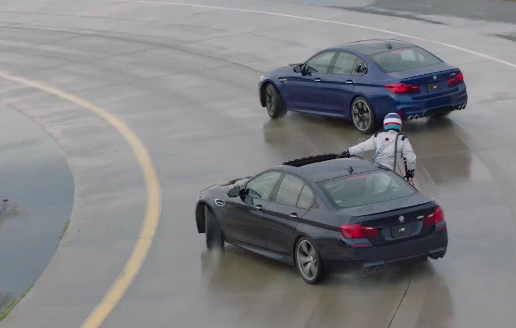 El BMW M5 recupera el Récord Guinness al drift más largo del mundo