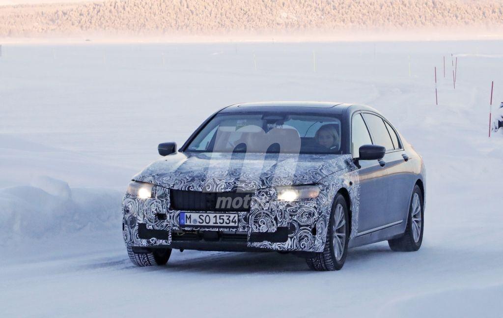 BMW acude con el Serie 7 a las pruebas de invierno en el norte de Suecia