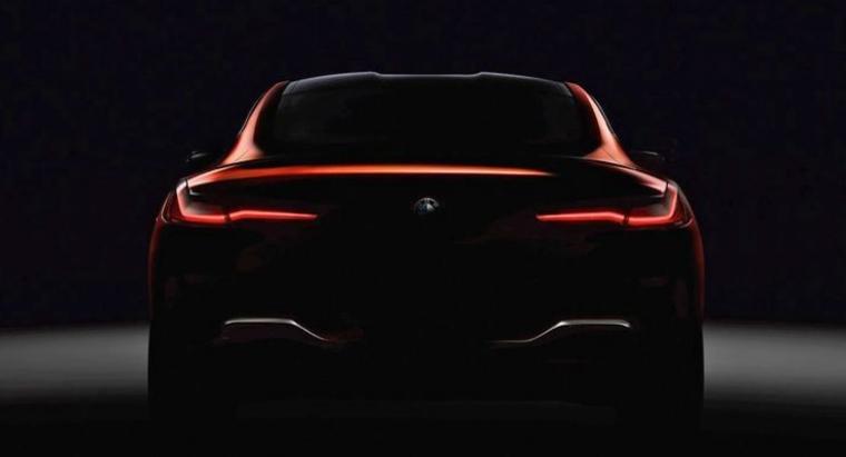 BMW presenta el primer adelanto del nuevo Serie 8