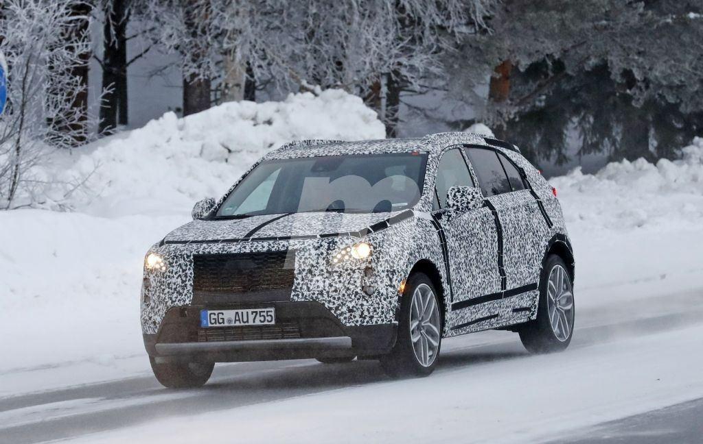 El nuevo Cadillac XT4 se deja ver en las pruebas de invierno de Europa