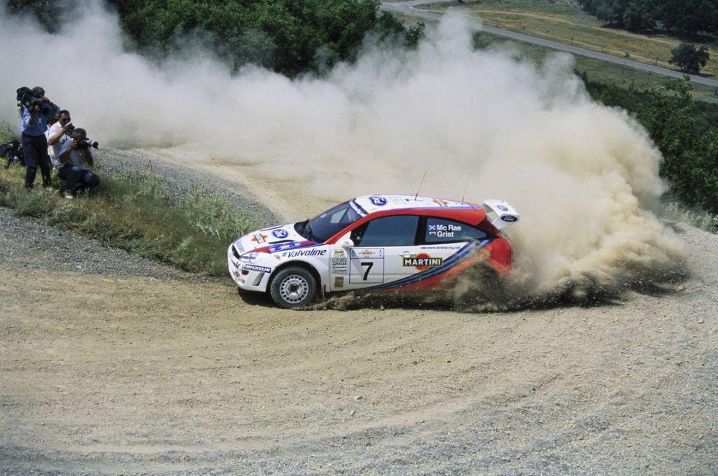 Uno de los Focus WRC de la temporada más nefasta de Colin McRae a la venta