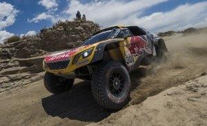 Dakar 2018, etapa 10: Sainz para el ataque de Peterhansel