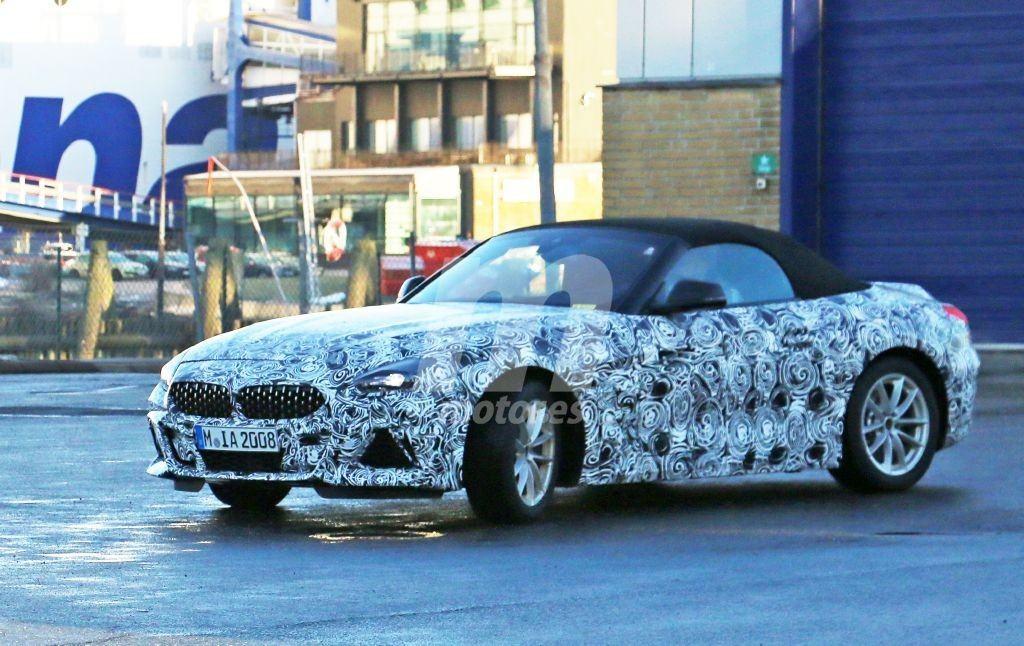 El nuevo BMW Z4 Pack M pierde camuflaje dejando ver su nuevo diseño
