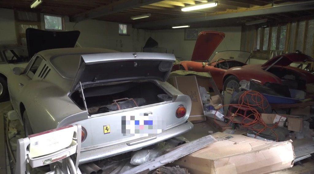 Descubiertos un Shelby Cobra 427 y un Ferrari 275 GTB 'Alloy' 27 años después