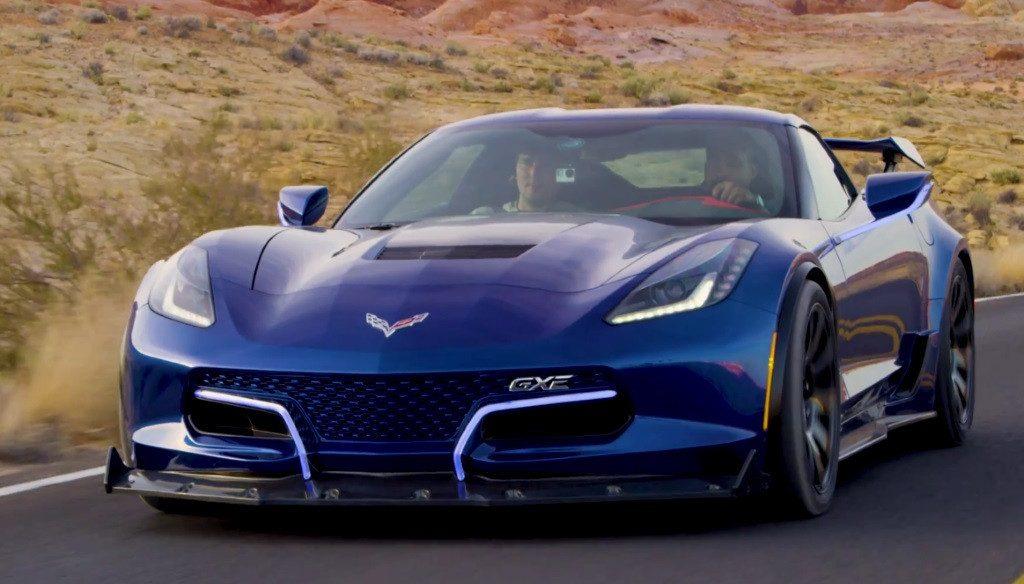 Genovation GXE: el primer vídeo del Corvette eléctrico de 811 CV