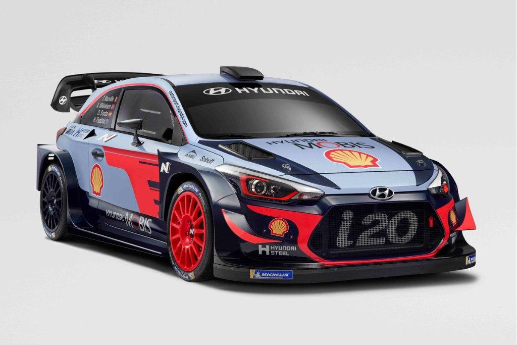 Hyundai desvela la imagen de su i20 WRC Coupé 2018