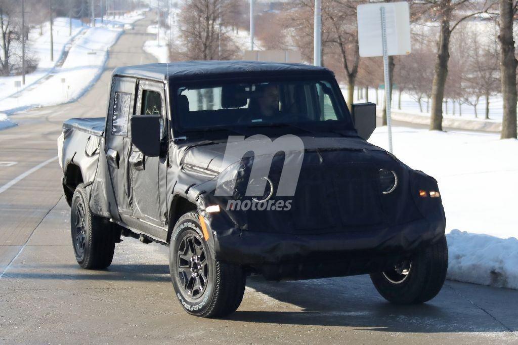Jeep Scrambler: el Jeep Wrangler pick-up ya rueda con su configuración definitiva
