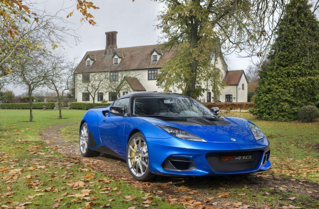 Lotus desvela el nuevo y más afinado Evora GT410 Sport