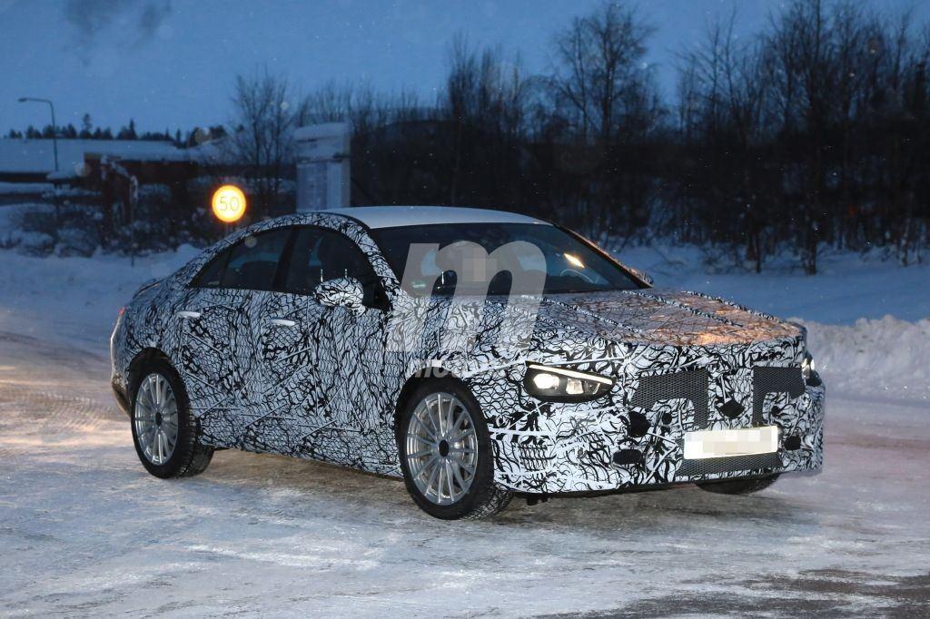 Mercedes CLA 2020: el desarrollo de la nueva generación está en marcha