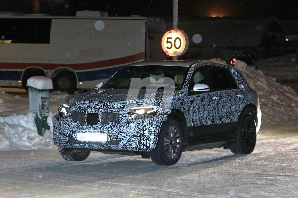 Mercedes EQC, cazado el nuevo SUV 100% eléctrico de la marca alemana