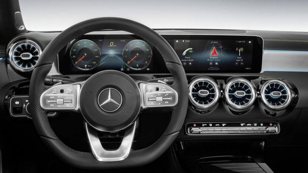Mercedes presenta su novedosa interfaz MBUX en el CES 2018