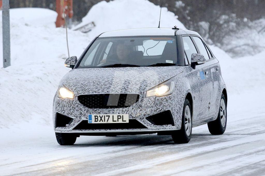El MG3 destinado al mercado europeo será actualizado en 2018