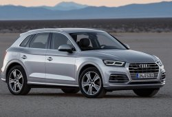 Audi dominó el mercado premium en China en 2017