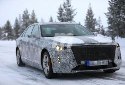El Cadillac CT6 2019 al detalle en nuevas fotos espía