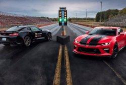 Posible versión 'drag racer' del Camaro como respuesta al Dodge Demon