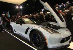 El primer Corvette Carbon 65 Edition subastado por 1.4 millones