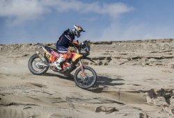Dakar 2018, etapa 6: Antoine Méo gana, Benavides es líder